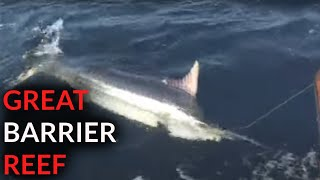 Fishing the Great Barrier Reef with Laurie Wright