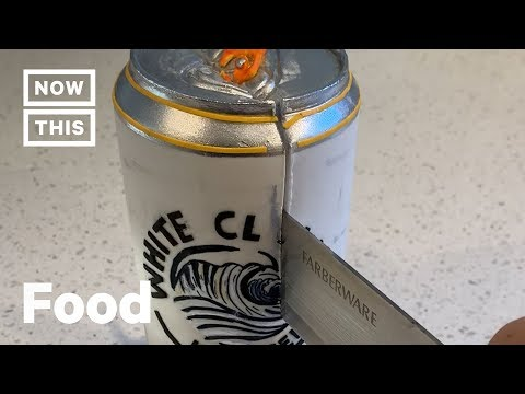 Katie Sommers - Genius Baker Creates White Claw Can Cake