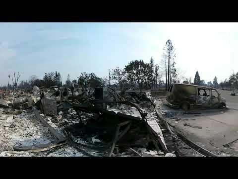 Santa Rosa's Coffey Park neighborhood after the Tubbs Fire