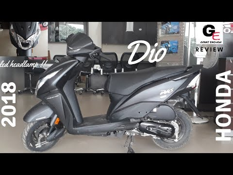 2018 Honda Dio | led headlamps | most detailed review | price | engine sound | mileage !!!!