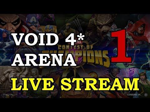 Void Arena - Part 1 | Marvel Contest of Champions Live Stream