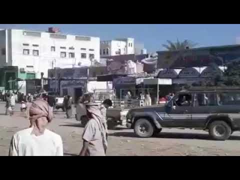 مليشيا حزب الاصلاح تطلق النار على تظاهرة سلمية في مدينة عزان محافظة شبوة
