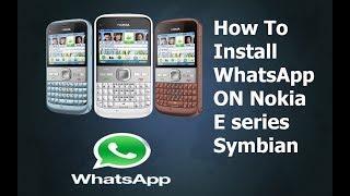 Nokia E5/E71 Whats app installation symbian