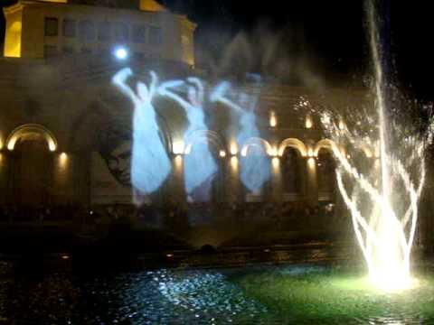 Поющие фонтаны   Армения,Ереван