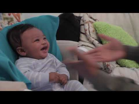 Clint Girlie - Cutest Baby Ever Can't Stop Laughing At Rapping Daddy