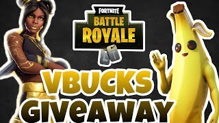 FORTNITE VBUCKS GIVEAWAY / CUSTOM MATCH MAKING LIVESTREAM!!