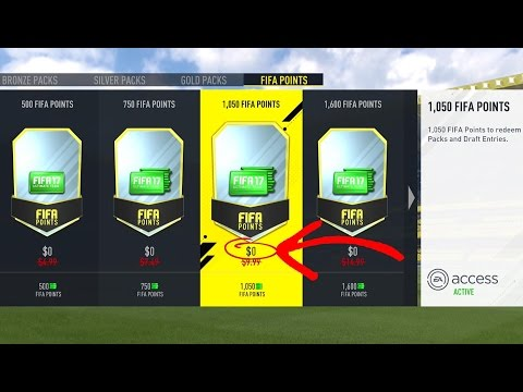 HOW TO GET FREE FIFA POINTS 100% LEGIT - FIFA 17