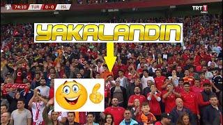 Türkiye İzlanda Maçında El Hareketi Çeken Çocuk