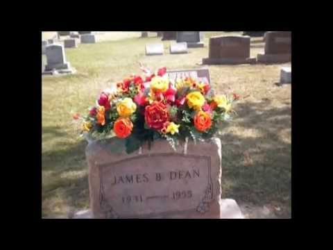SB7 at James Dean's grave in Fairmount Indiana - YouTube