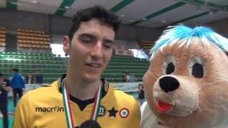 22-05-2016: DHL Modena, Giulio Pinali MVP della Del Monte Junior League