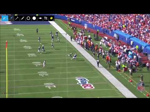 Bills Offense | Personnel and Play action vs. Broncos