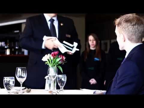 Hospitality How To - Wine Service