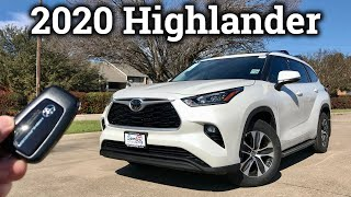 2020 Toyota Highlander XLE Review & Drive (With Trim Level Comparisons)