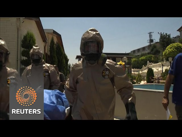 After Syria sarin attack, doctors train to treat chemical weapons victims