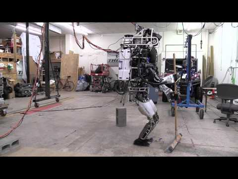 Here's Boston Dynamics' ATLAS Robot Doing Its Best Impression of a Roomba