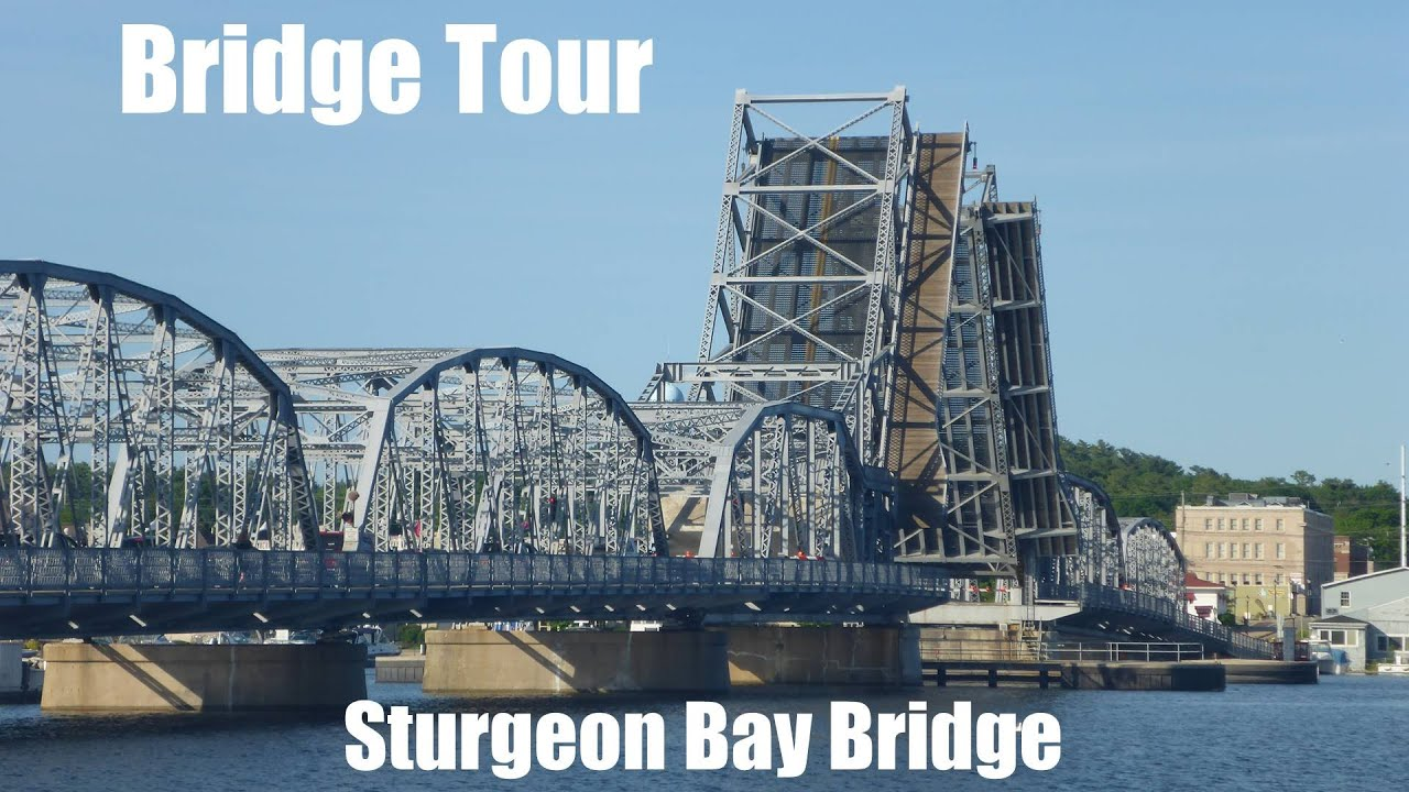 Tour and Opening of the Sturgeon Bay Bridge