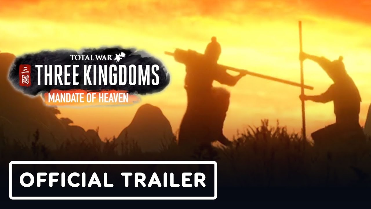 Total War: Three Kingdoms - Trailer cinematográfico del Mandato Oficial del Cielo + vídeo
