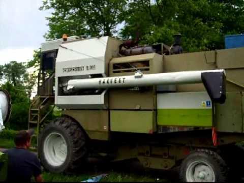 Przygotowywanie do żniwa 2012, renowacja kombajnu FORTSCHRITT E514, cz.5