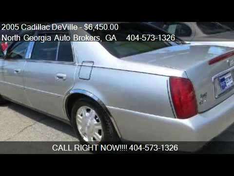North Georgia Auto Brokers >> 2005 Cadillac Deville Livery Fleet For Sale In Snellville G