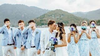 Wedding Santhiya Koh Phangan  Thailand l Hilary + James