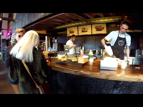 Tour of a Street Food Market in Copenhagen (Papiroen)