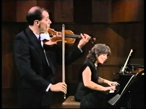 Michael Vaiman and Dina Yoffe play Schubert Sonatina Op.137 No.3