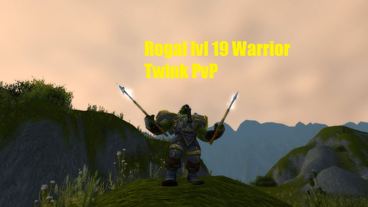 19 warrior twink gear guide