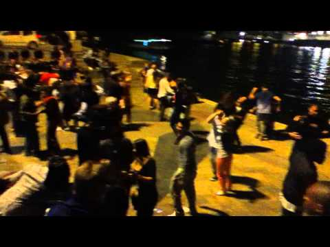 Salsa Dancing in Paris on the Seine River
