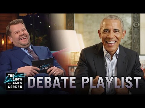 What Was On Candidate Obama's Debate Prep Playlist?