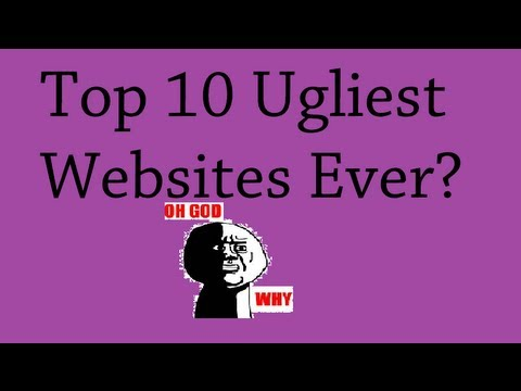 Top 10 Ugliest Websites Ever!
