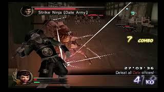 Samurai Warriors 100% Mission Guide! Kunoichi Walkthrough! Odawara Infiltration Alternate Version!