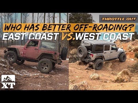 East Coast Vs West Coast - Which Coast Has The Best Jeep Off-Roading? - Throttle Out
