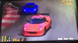 Gran Turismo 3 Elise 190, The Lotus Elise Sonic Heroes Racing's 6/9 ⭐️ 🏁