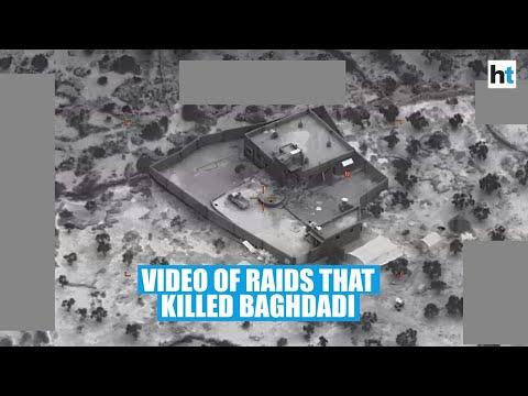US releases video of raid that killed ISIS chief Abu Bakr al-Baghdadi