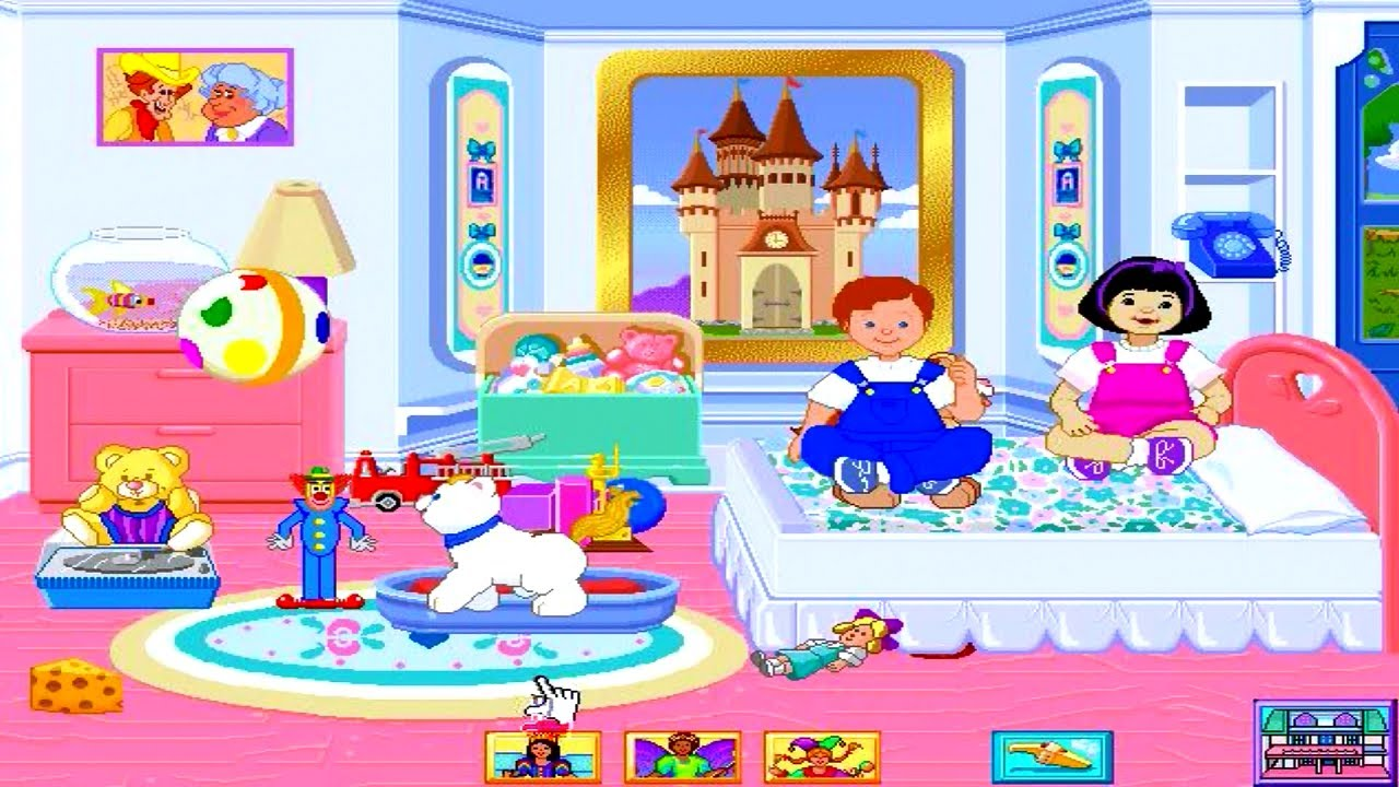 Fisher Price Dream Dollhouse Pc Game Review Youtube