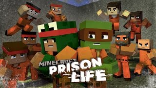 Minecraft Prison Life - JOINING A PRISON GANG!? #3 w/ Little Lizard & Tiny Turtle