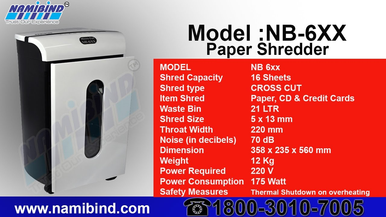 paper shredder types Strip-cut shredders cut the paper into even strips this is the least secure type of paper shredder because the pieces remain easy to put back together.