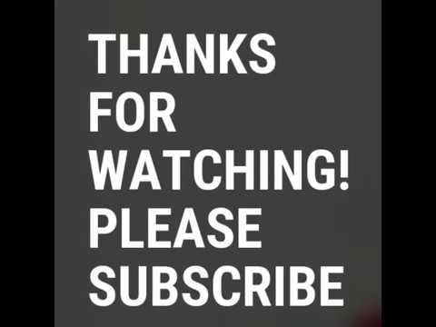 """""""Thanks For Watching"""" 