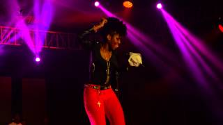 "Mz Vee PRAISES SHATTA WALE THE DANCEHALL KING AT ""REXONA DO MORE PARTY""  PART 2. JMP VIDEO"
