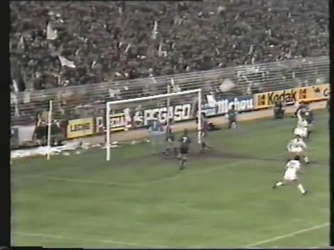 Real Madrid 6 Anderletch 1 (Copa de la UEFA 84-85)