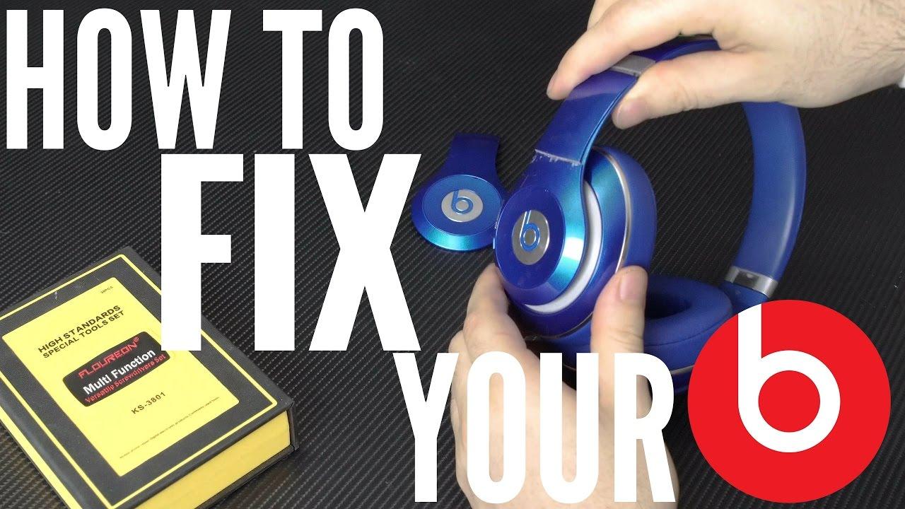 How To Fix Beats Studio 2 Left Panel Youtube