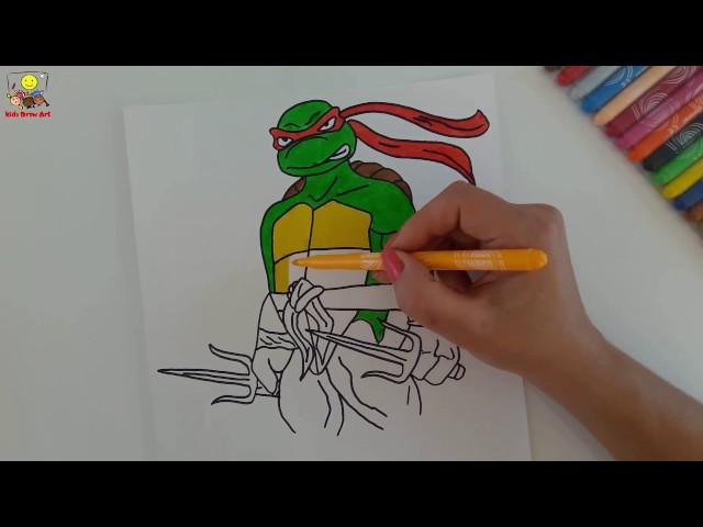 Mewarnai Gambar Kura Kura Ninja Unduh Gambar Terbaik