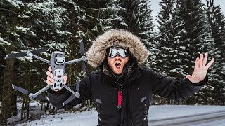 DJI MAVIC 2 PRO FIRST SNOW madness Active Track 2.0 in DLOG-M BLACK FRIDAY