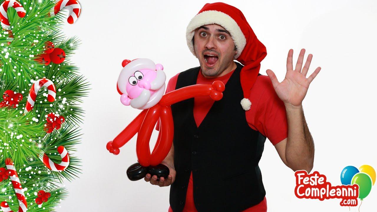 Babbo Natale con Palloncini Modellabili - Tutorial 52 - Feste Compleanni -  YouTube 182b3a1bb7f7