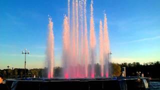 фонтан на Стрелке в Ярославле 2