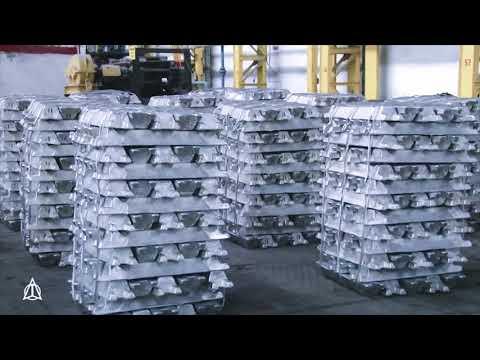 Production of A7 grade Aluminum