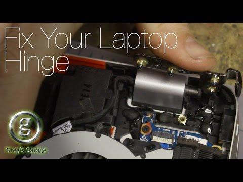 Broken HP Laptop Hinge