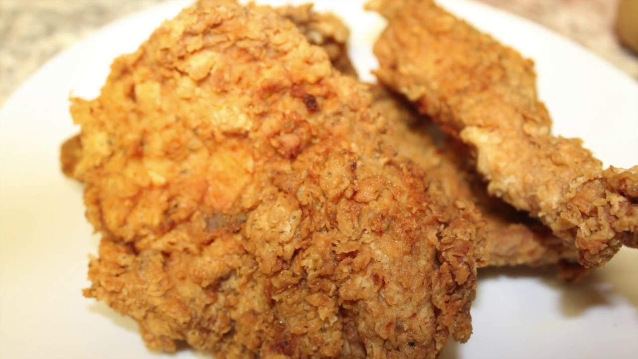 Crispy Fried Chicken Breast Super Easy Recipe Youtube