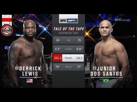 UFC Fight Night 146: Lewis vs. Dos Santos - Highlights