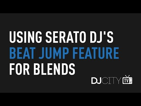 Using Serato DJ's Beat Jump Feature for Blends